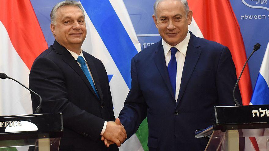 Terrorismo promove união de Orban e Netanyahu