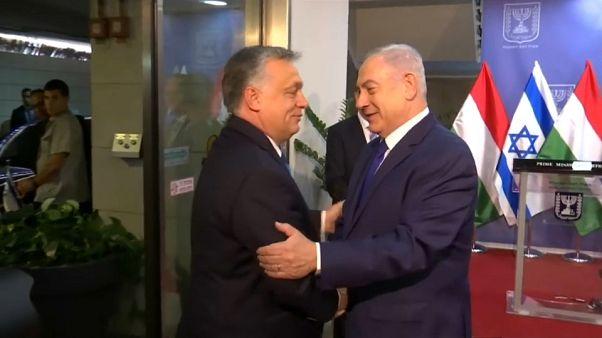 "Netanyahu recibe a Orbán como ""un verdadero amigo de Israel"""