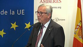 Juncker s'inquiète des nationalismes en Europe