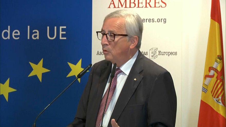 """Juncker: """"Nationalismus und Populismus führen zum Krieg*"""