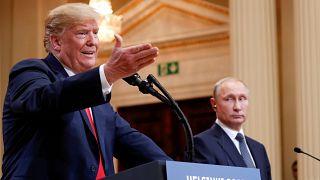ABD Başkanı Donald Trump & Rusya Devlet Başkanı Vladimir Putin