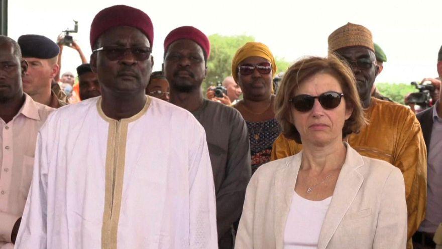 Florence Parly au Niger pour booster la force du G5 Sahel