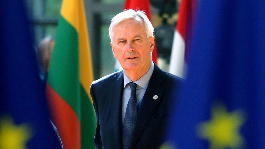 Michel Barnier, az EU főtárgyalója