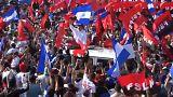 Ortega lässt sich feiern