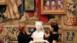 Kiállítás a Buckingham palotában