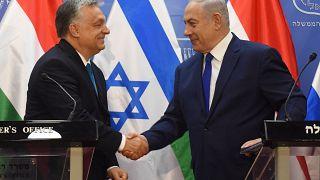 Fin de la visite d'Orban en Israël