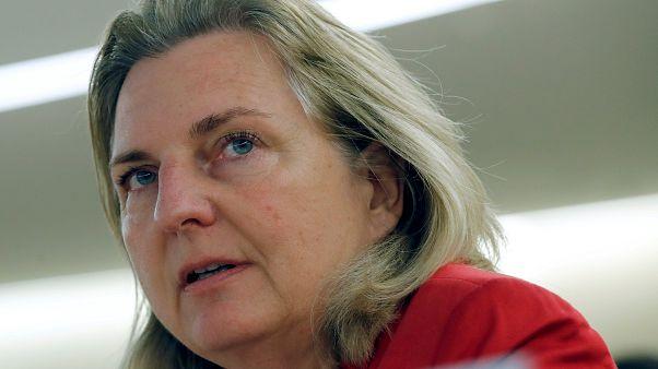 وزيرة الخارجية النمساوية كارين كنيسل