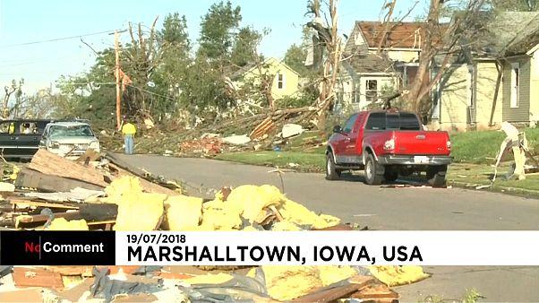 L'Iowa balayé par des tornades