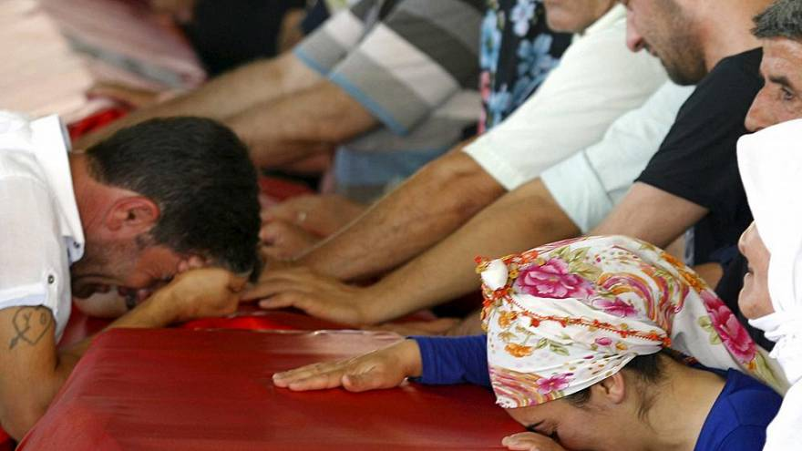 Suruç Katliamı'nın 3'üncü yılı: Hayatını kaybeden 33 kişi anıldı