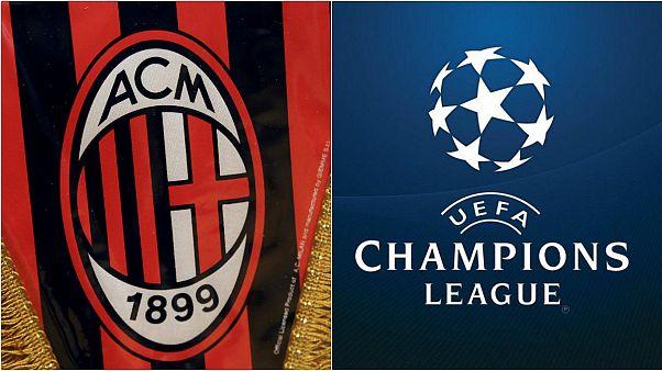 UEFA Milan'ın men cezasını askıya aldı