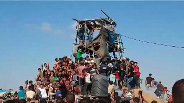 Four Palestinians killed by Israeli forces at Gaza border