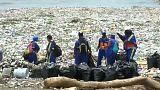 Le coste della Repubblica Dominicana invase dalla plastica