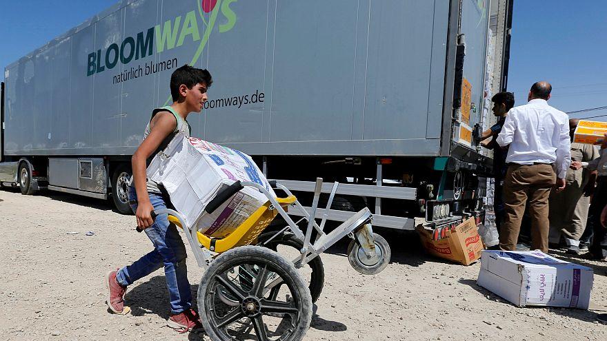 فرنسا ترسل مساعدات لمناطق تسيطر عليها الحكومة السورية