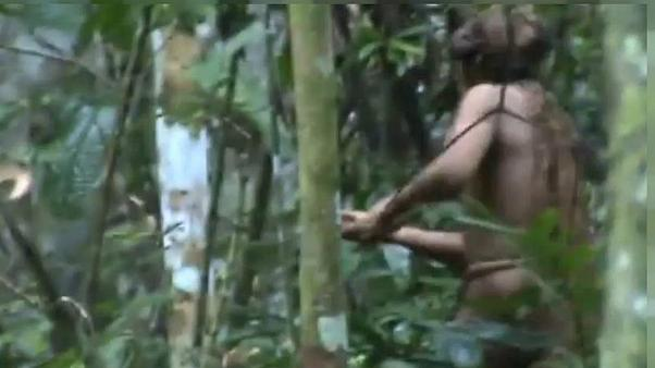 آخرین یازمانده از یک قبیله بومیان آمازون