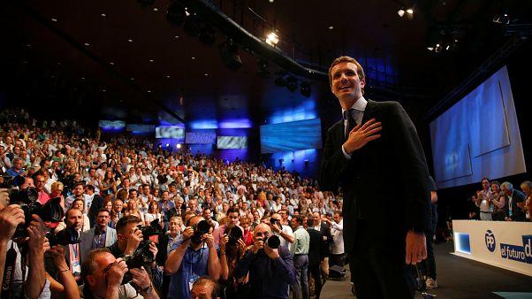 Ο νεός πρόεδρος του ισπανικού Λαϊκού Κόμματος αμέσως μετά την εκλογή του