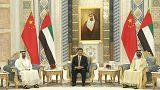 رئيس الصين يغادر الإمارات بعد توقيع 13 اتفاقية ومذكرة تفاهم