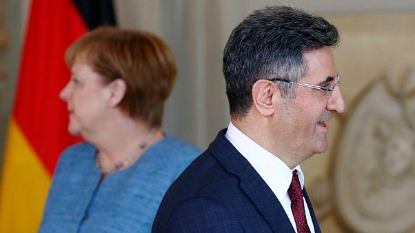 ملاقات سفیر ترکیه در آلمان با آنگلا مرکل