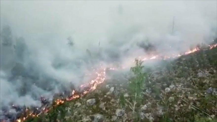 Incendios y sequías en el norte de Europa a causa de una ola de calor