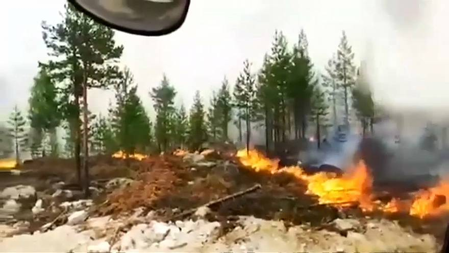 Noch mehr Wald brennt in Schweden