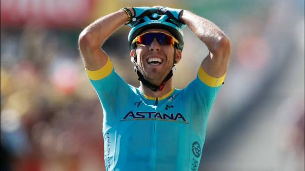 Victoria de Omar Fraile en la 14ª etapa del Tour de Francia