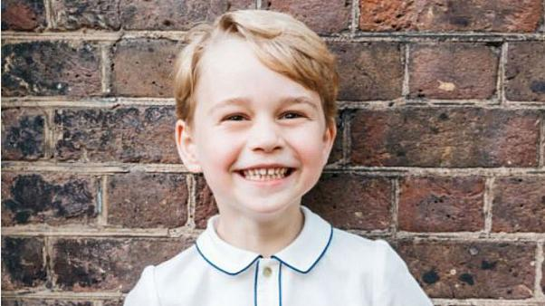 New picture of Prince George released on the eve of fifth birthday