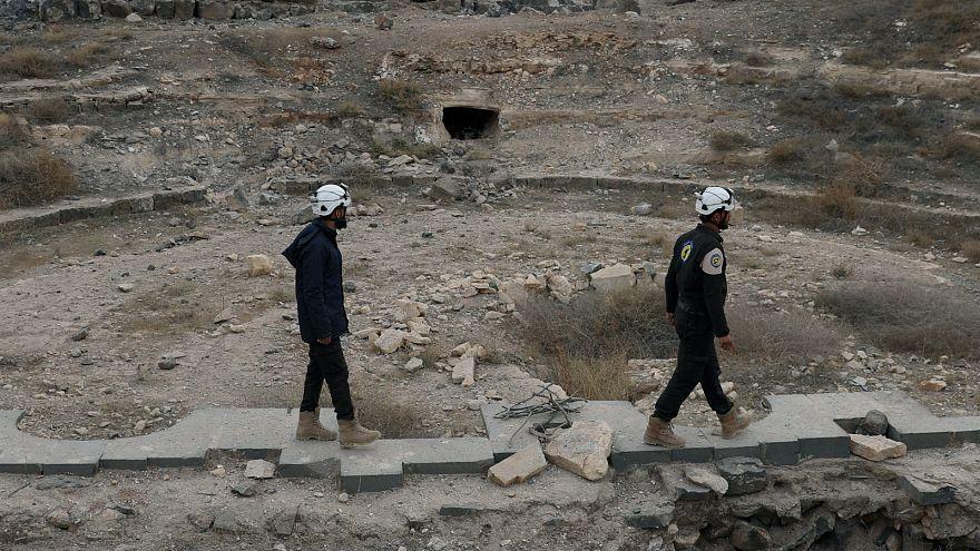Des casques blancs en Syrie