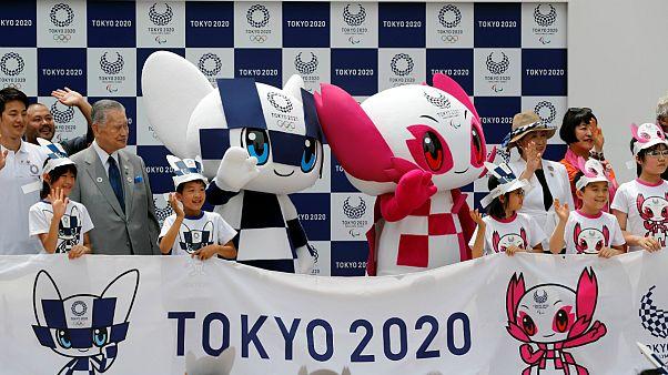 رونمایی از عروسک های نماد بازیهای المپیک و پارالمپیک توکیو