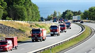 Poland joins EU countries battling Sweden's wildfires