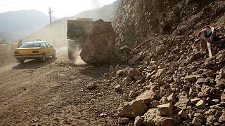زلزله در تازه آباد کرمانشاه