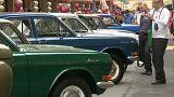 Москва: парад ретро-автомобилей