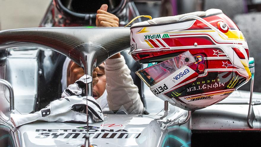 Will a pit-lane infringement cost Hamilton his victory at Hockenheim?