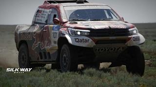 Nasser Al Attiyah conquista anche la seconda tappa del Silk Way Rally 2018