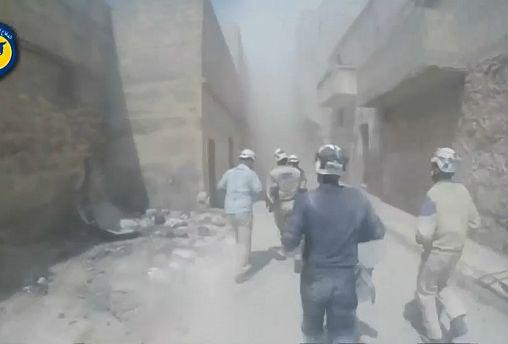 Des centaines de casques blancs évacués de Syrie