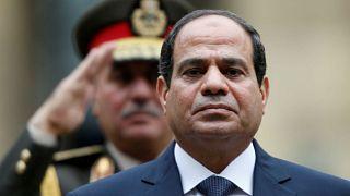 الرئيس المصري عبد الفتاح السيسي.