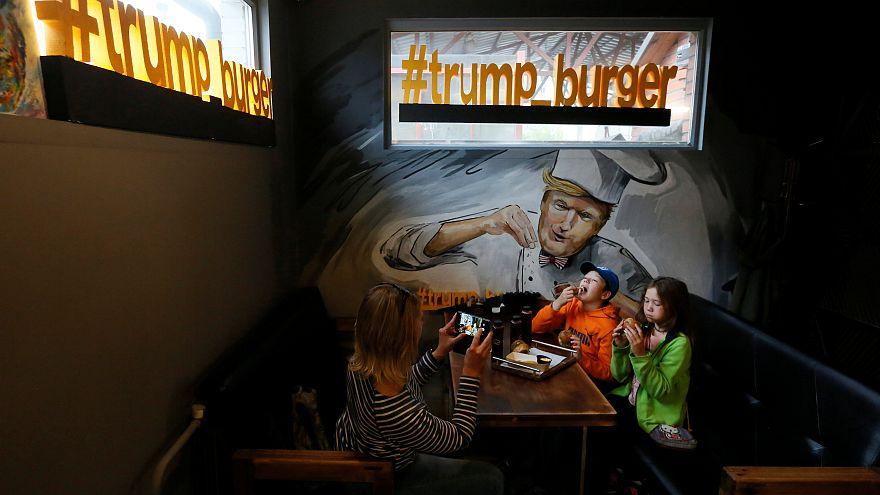 """زيادة الطلب على مطعم """"ترامب"""" للبرغر بعد تحسن العلاقات الأمريكية الروسية"""