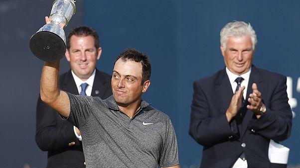 Golf: Francesco Molinari vince il British Open, primo italiano a trionfare in un major