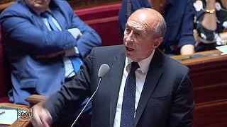 """Il ministro Collomb in Parlamento: """"Condanno gli atti di Benalla"""""""