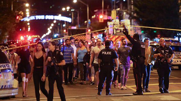Toronto shooting: Gunman, 2 civilians killed as 15 people 'struck by gunfire'