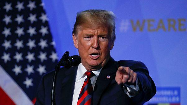 ترامپ در پاسخ به روحانی: دیگر هرگز آمریکا را تهدید نکن