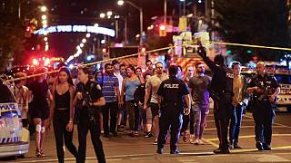 Near the scene of the Toronto shooting