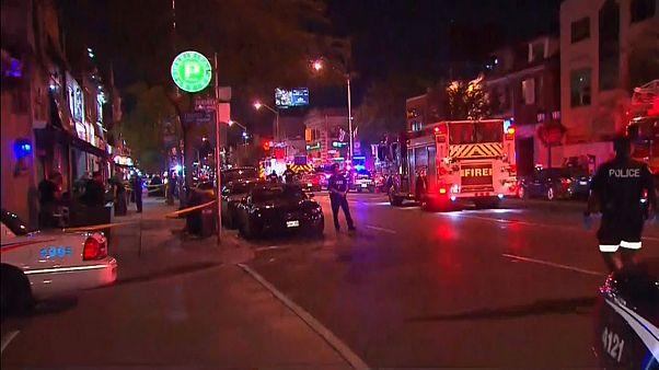 Sparatoria a Toronto. salgono a tre i morti, incluso l'attentatore.