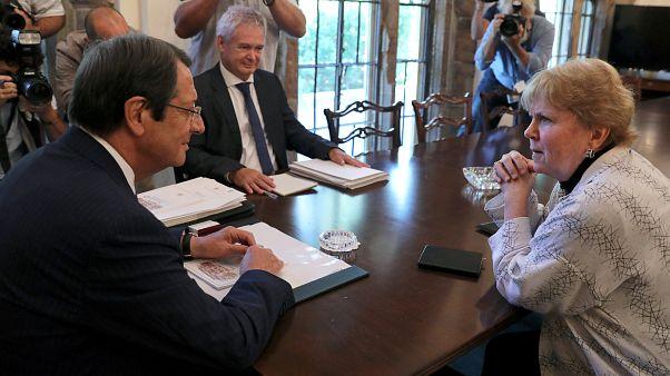 Κύπρος: Συνάντηση Αναστασιάδη - Λουτ για το Κυπριακό