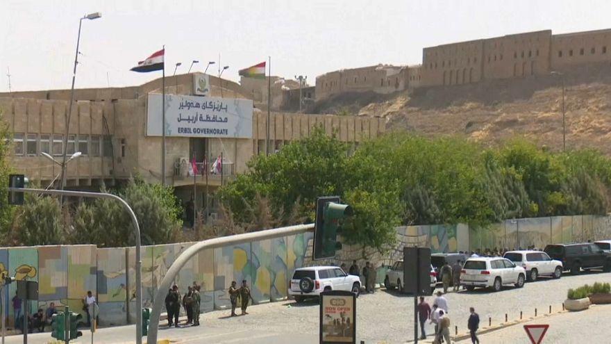 مقتل المسلح الأخير في مقر محافظة إربيل