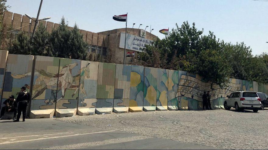 پایان حمله مسلحانه به استانداری اربیل عراق با کشته شدن آخرین مهاجم