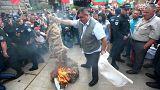 Bulgarische Landwirte protestieren gegen Massenkeulungen