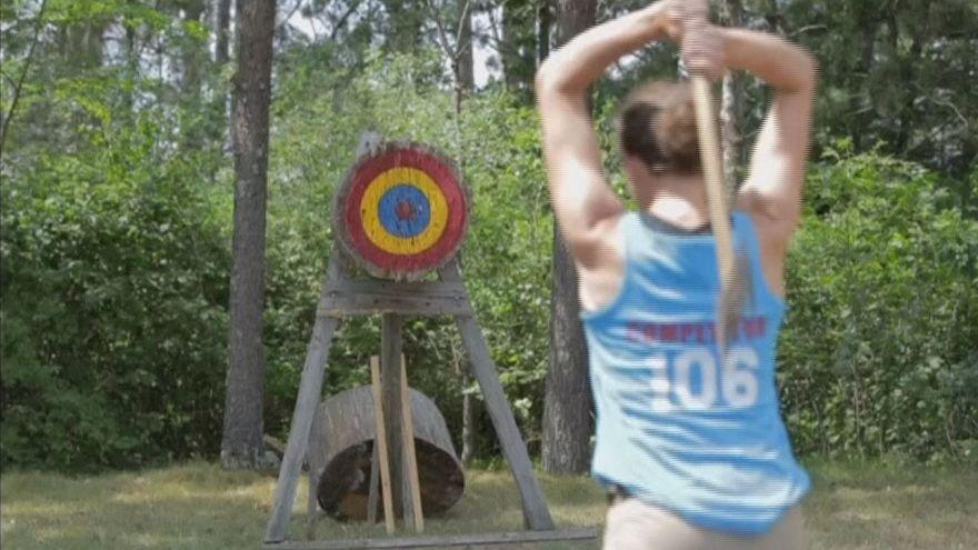 Winners earn titles at the Lumberjack World Championships