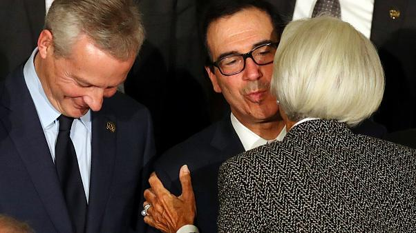 Mnuchin and Lagarde in Argentina