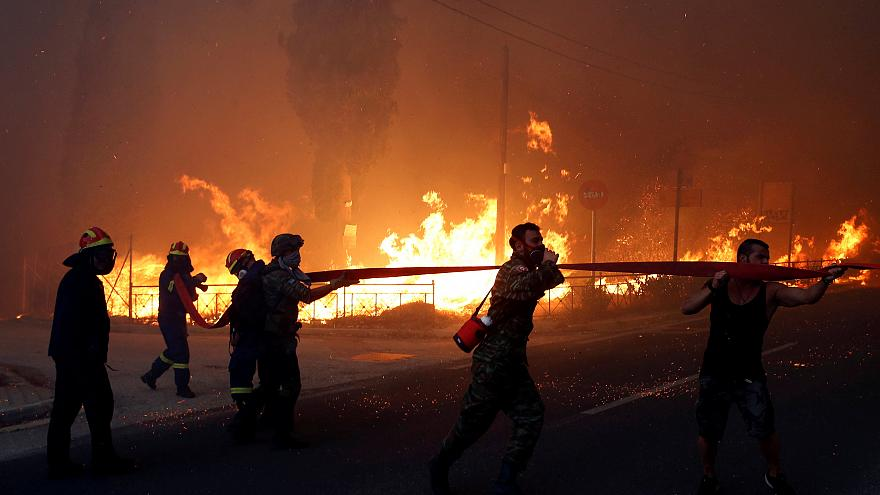 Αποτέλεσμα εικόνας για πυρκαιες αττικη