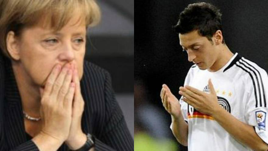 """ميركل ترد على تصريحات اللاعب الألماني مسعود أوزيل المعتزل بسبب """"العنصرية"""""""