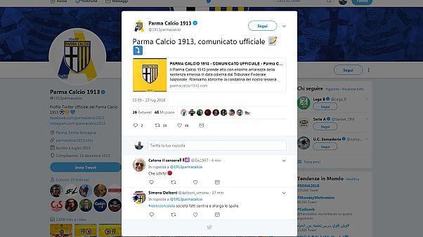Parma: 5 punti di penalizzazione. Due anni di stop a Calaiò